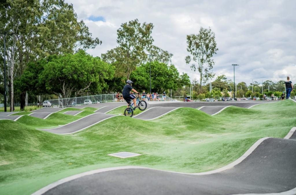 Pumptrack © Brisbane City Council 2020