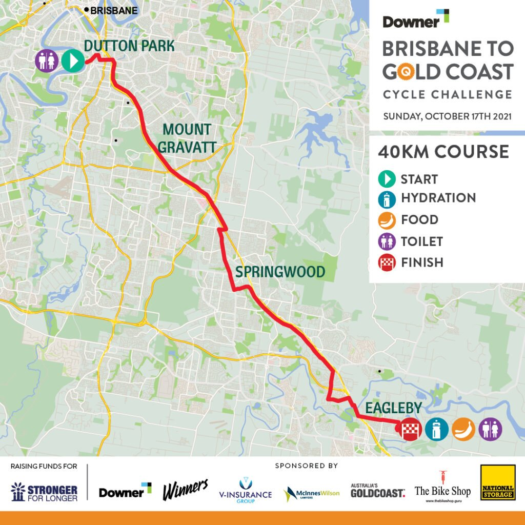 B2GC 40K COURSE Map